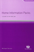 Cover of Home Information Packs: A Guide to the New Law