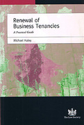 Cover of Renewal of Business Tenancies: A Practical Guide