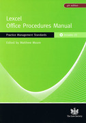 Cover of Lexcel Office Procedures Manual: Practice Management Standards