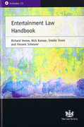 Cover of Entertainment Law Handbook