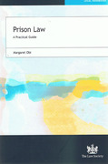 Cover of Prison Law: A Practical Guide