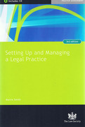 Cover of Setting Up and Managing a Legal Practice