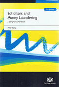 Cover of Solicitors and Money Laundering: A Compliance Handbook