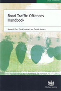 Cover of Road Traffic Offences Handbook