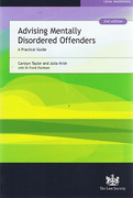 Cover of Advising Mentally Disordered Offenders: A Practical Guide