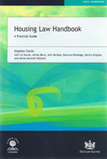 Cover of Housing Law Handbook: A Practical Guide