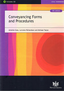 Cover of Conveyancing Forms and Procedures