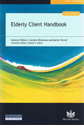 Cover of Elderly Client Handbook