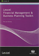 Cover of Lexcel Financial Management & Business Planning Toolkit