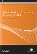 Cover of Lexcel Business Continuity Planning Toolkit
