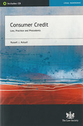 Cover of Consumer Credit: Law, Practice and Precedents