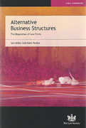 Cover of Alternative Business Structures: The Regulation of Law Firms
