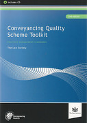 Cover of Conveyancing Quality Scheme Toolkit