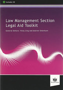 Cover of Law Management Section Legal Aid Toolkit