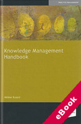 Cover of Knowledge Management Handbook (eBook)