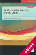 Cover of Guide to Motor Insurers' Bureau Claims (eBook)