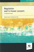 Cover of Regulation and In-House Lawyers