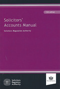 Cover of Solicitors' Accounts Manual
