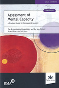 Cover of Assessment of Mental Capacity: A Practical Guide for Doctors and Lawyers