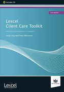Cover of Lexcel Client Care Toolkit