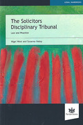 Cover of The Solicitors Disciplinary Tribunal: Law and Practice