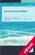 Cover of The Law Society's Conveyancing Handbook (eBook)