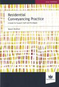 Cover of Residential Conveyancing Practice: A Guide For Support Staff And Paralegals