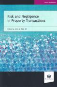 Cover of Risk and Negligence in Property Transactions