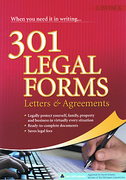 Cover of 301 Legal Forms: Letters & Agreements