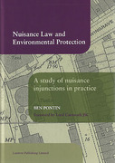 Cover of Nuisance Law and Environmental Protection: An Analysis of the Enforcement of Injunctions