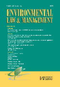 Cover of Environmental Law and Management