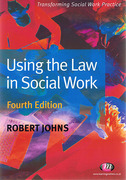 Cover of Using the Law in Social Work