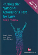 Cover of LNAT: Passing the National Admissions Test for Law
