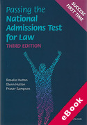 Cover of LNAT: Passing the National Admissions Test for Law (eBook)