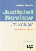 Cover of Judicial Review Proceedings: A Practitioner's Guide