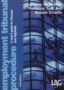 Cover of Employment Tribunal Procedure: A User's Guide to Tribunals and Appeals