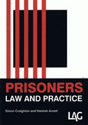 Cover of Prisoners: Law and Practice