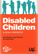 Cover of Disabled Children: A Legal Handbook