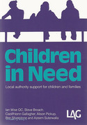 Cover of Children in Need: Local Authority Support for Children and Families