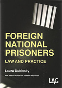 Cover of Foreign National Prisoners: Law and Practice