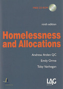 Cover of Homelessness and Allocations
