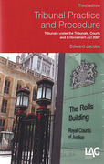 Cover of Tribunal Practice and Procedure: Tribunals under the Tribunals, Courts and Enforcement Act 2007