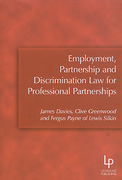 Cover of Employment, Partnership and Discrimination Law for Professional Partnerships