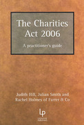 Cover of The Charities Act 2006 - A Practitoner's Guide