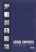 Cover of Legal Experts Europe, Middle East and Africa 2012