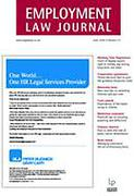 Cover of Employment Law Journal