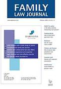Cover of Family Law Journal