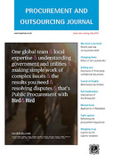 Cover of Procurement and Outsourcing Journal