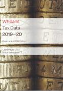 Cover of Whillans Tax Data 2019-20: Finance Act edition