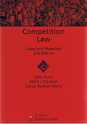 Cover of Competition Law: Cases and Materials